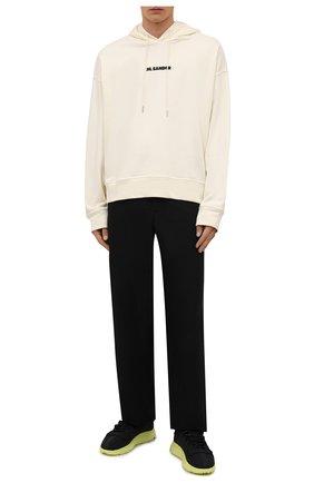 Мужские текстильные кроссовки shiku run Y-3 черного цвета, арт. GZ9139/M | Фото 2 (Материал внутренний: Натуральная кожа, Текстиль; Материал внешний: Текстиль; Подошва: Массивная; Стили: Спорт)