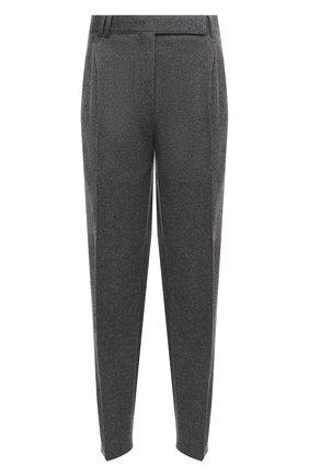 Мужские кашемировые брюки ZEGNA COUTURE серого цвета, арт. 260N18/73NHN2 | Фото 1 (Материал внешний: Шерсть, Кашемир; Длина (брюки, джинсы): Стандартные; Случай: Повседневный; Стили: Кэжуэл)