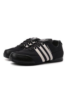 Мужские кроссовки sprint Y-3 черного цвета, арт. GZ9168/M | Фото 1 (Материал внутренний: Текстиль, Натуральная кожа; Подошва: Плоская; Материал внешний: Текстиль; Стили: Спорт)