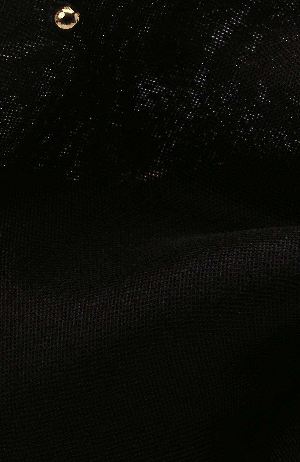 Женская бант PANFIL черного цвета, арт. Бант 0-8-М   Фото 4 (Материал: Текстиль, Шелк)