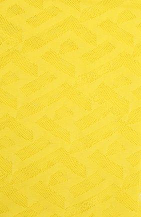 Женские колготки VERSACE желтого цвета, арт. 1001545/1A01647 | Фото 2 (Материал внешний: Синтетический материал)