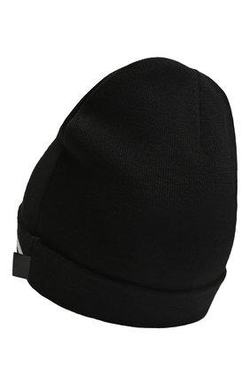 Детского шапка KARL LAGERFELD KIDS черного цвета, арт. Z11035 | Фото 2 (Материал: Синтетический материал, Текстиль)