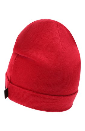 Детского шапка KARL LAGERFELD KIDS красного цвета, арт. Z11035 | Фото 2 (Материал: Синтетический материал, Текстиль)