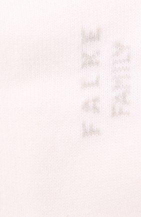 Детские хлопковые носки FALKE белого цвета, арт. 12997. | Фото 2 (Материал: Хлопок, Текстиль)