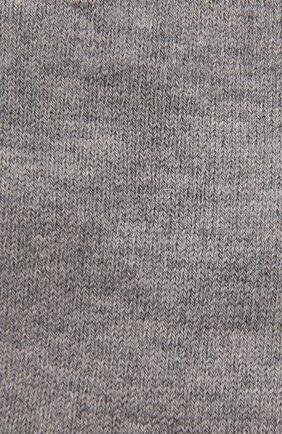 Детские хлопковые носки FALKE серого цвета, арт. 12998. | Фото 2 (Материал: Хлопок, Текстиль)