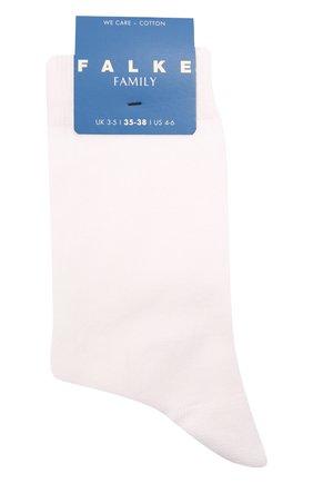 Детские хлопковые носки FALKE белого цвета, арт. 12998. | Фото 1 (Материал: Текстиль, Хлопок)