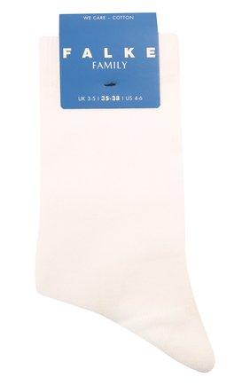 Детские хлопковые носки FALKE кремвого цвета, арт. 12998.   Фото 1 (Материал: Хлопок, Текстиль)