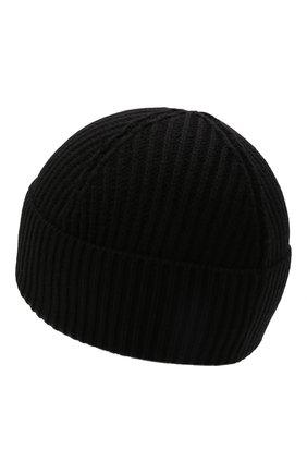 Детского шапка из шерсти и хлопка DSQUARED2 черного цвета, арт. DQ0452-D00WC | Фото 2 (Материал: Хлопок, Шерсть, Текстиль)