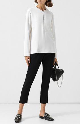 Женская блузка из вискозы STELLA MCCARTNEY белого цвета, арт. 341360/SCA06 | Фото 2
