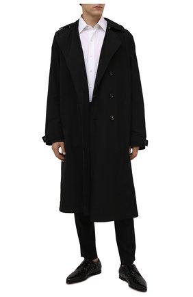 Мужские кожаные дерби copernico DOLCE & GABBANA черного цвета, арт. A10677/A0800 | Фото 2 (Материал внутренний: Натуральная кожа; Стили: Классический)