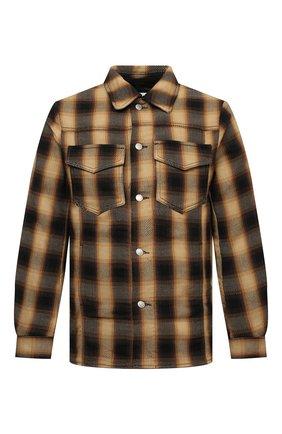 Мужская хлопковая куртка DRIES VAN NOTEN бежевого цвета, арт. 212-020506-3238 | Фото 1 (Длина (верхняя одежда): Короткие; Материал внешний: Хлопок; Рукава: Длинные; Кросс-КТ: Куртка, Ветровка; Стили: Кэжуэл)