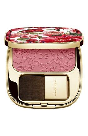 Румяна с эффектом сияния blush of roses dg loves russia, 200 provocative (5g) DOLCE & GABBANA бесцветного цвета, арт. 30701092DG   Фото 1