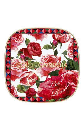 Румяна с эффектом сияния blush of roses dg loves russia, 200 provocative (5g) DOLCE & GABBANA бесцветного цвета, арт. 30701092DG   Фото 2
