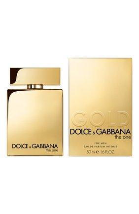 Мужской парфюмерная вода the one for men gold intense (50ml) DOLCE & GABBANA бесцветного цвета, арт. 30701122DG | Фото 2
