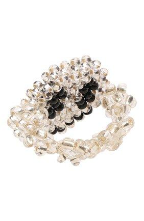 Женское кольцо смайл HIAYNDERFYT прозрачного цвета, арт. 1-1TTSM | Фото 3 (Материал: Стекло)