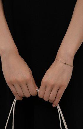 Женский браслет HANKA_IN золотого цвета, арт. DIV-BR-PEG0 | Фото 2 (Материал: Металл)