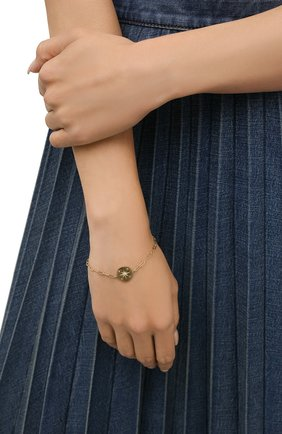 Женский браслет HANKA_IN золотого цвета, арт. H0P-BR-NE0 | Фото 2 (Материал: Металл)