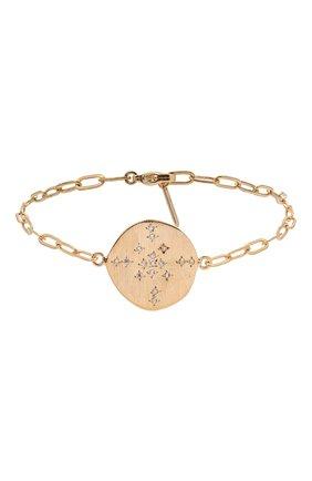 Женский браслет HANKA_IN золотого цвета, арт. H0P-BR-STA | Фото 1 (Материал: Металл)