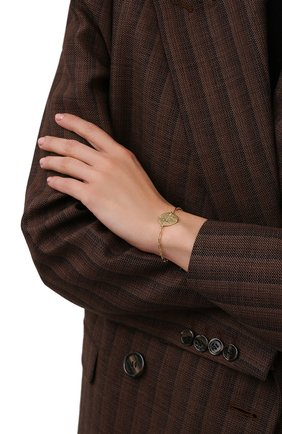 Женский браслет HANKA_IN золотого цвета, арт. H0P-BR-STA | Фото 2 (Материал: Металл)