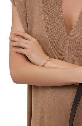 Женский браслет HANKA_IN серого цвета, арт. KIM-BR-LAB   Фото 2 (Материал: Металл)