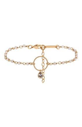 Женский браслет HANKA_IN золотого цвета, арт. MER-BR-LAB-G0U | Фото 1 (Материал: Металл)