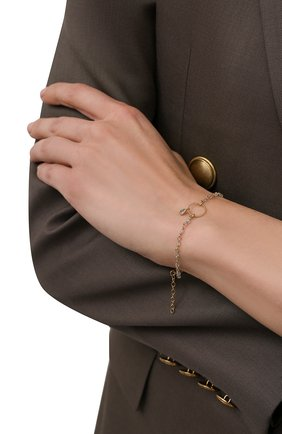 Женский браслет HANKA_IN золотого цвета, арт. MER-BR-LAB-G0U | Фото 2 (Материал: Металл)