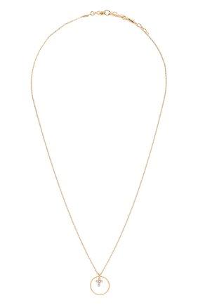 Женская кулон на цепочке HANKA_IN золотого цвета, арт. STACIR-C0-CR0 | Фото 1 (Материал: Металл)