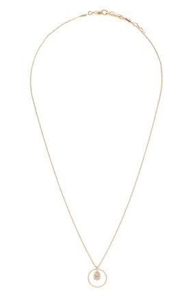 Женское колье HANKA_IN золотого цвета, арт. STACIR-C0-G0PA | Фото 1 (Материал: Металл)