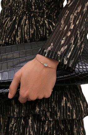 Женский браслет HANKA_IN золотого цвета, арт. TER-BR-CAL | Фото 2 (Материал: Металл)