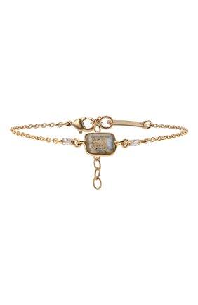 Женский браслет HANKA_IN золотого цвета, арт. TER-BR-LAB | Фото 1 (Материал: Металл)