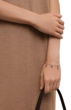 Женский браслет HANKA_IN золотого цвета, арт. VEG-BR-LAB | Фото 2 (Материал: Металл)