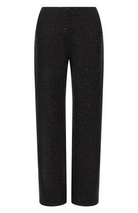 Женские кашемировые брюки LORO PIANA темно-серого цвета, арт. FAL8590 | Фото 1 (Материал внешний: Кашемир, Шерсть; Стили: Кэжуэл; Женское Кросс-КТ: Брюки-одежда; Силуэт Ж (брюки и джинсы): Широкие; Длина (брюки, джинсы): Удлиненные, Стандартные)