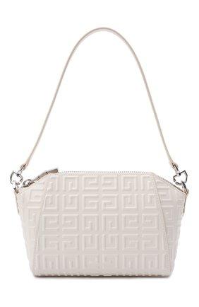 Женская сумка antigona xs GIVENCHY молочного цвета, арт. BB50HGB144   Фото 1 (Материал: Натуральная кожа; Размер: small; Ремень/цепочка: На ремешке; Сумки-технические: Сумки top-handle)