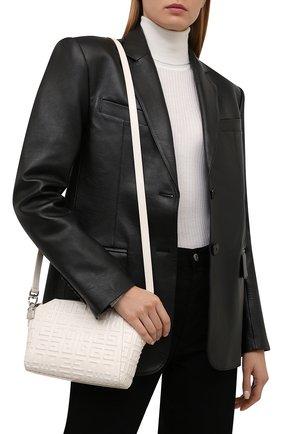 Женская сумка antigona xs GIVENCHY молочного цвета, арт. BB50HGB144   Фото 2 (Материал: Натуральная кожа; Размер: small; Ремень/цепочка: На ремешке; Сумки-технические: Сумки top-handle)