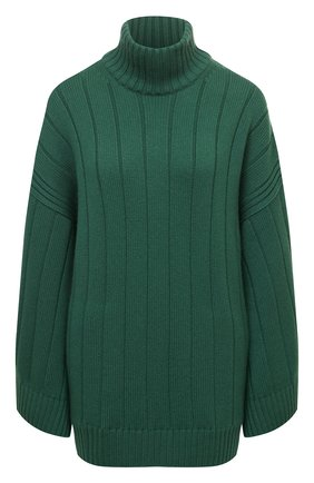 Женская кашемировое пончо LORO PIANA темно-зеленого цвета, арт. FAL8388 | Фото 1 (Материал внешний: Кашемир, Шерсть; Стили: Кэжуэл; Длина (верхняя одежда): Короткие)