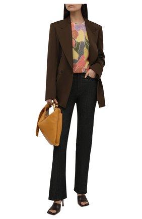 Женский шерстяной пуловер DRIES VAN NOTEN розового цвета, арт. 212-011238-3720 | Фото 2 (Рукава: Длинные; Длина (для топов): Стандартные; Материал внешний: Синтетический материал, Шерсть; Стили: Кэжуэл; Женское Кросс-КТ: Пуловер-одежда)