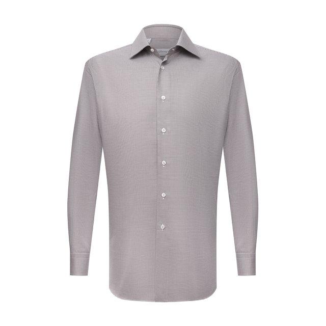 Хлопковая сорочка Brioni 12273980