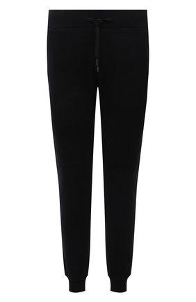 Мужские хлопковые джоггеры RH45 черного цвета, арт. KP25 | Фото 1 (Материал внешний: Хлопок; Длина (брюки, джинсы): Стандартные; Силуэт М (брюки): Джоггеры; Мужское Кросс-КТ: Брюки-трикотаж; Стили: Спорт-шик)