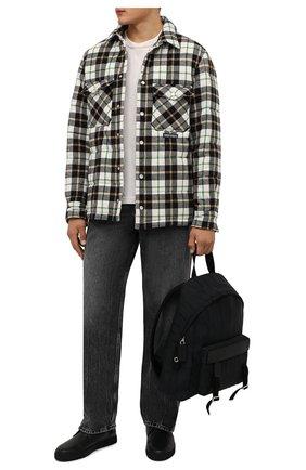 Мужские кожаные ботинки CORNELIANI черного цвета, арт. 88TM44-1820955 | Фото 2 (Материал внутренний: Текстиль, Натуральная кожа; Подошва: Плоская; Мужское Кросс-КТ: Ботинки-обувь, Дезерты-обувь)