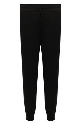Мужские хлопковые джоггеры Y-3 черного цвета, арт. GV4202/M | Фото 1 (Материал внешний: Хлопок; Длина (брюки, джинсы): Укороченные; Силуэт М (брюки): Джоггеры; Мужское Кросс-КТ: Брюки-трикотаж; Стили: Спорт-шик)