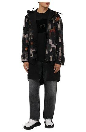 Мужская парка Y-3 разноцветного цвета, арт. HB3325/M | Фото 2 (Материал подклада: Синтетический материал; Материал внешний: Синтетический материал; Рукава: Длинные; Длина (верхняя одежда): До середины бедра; Стили: Милитари; Кросс-КТ: Куртка)