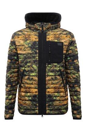 Мужская пуховая куртка BURBERRY разноцветного цвета, арт. 8042792 | Фото 1 (Длина (верхняя одежда): Короткие; Материал подклада: Синтетический материал; Рукава: Длинные; Материал утеплителя: Пух и перо; Материал внешний: Синтетический материал; Кросс-КТ: Куртка; Мужское Кросс-КТ: пуховик-короткий; Стили: Милитари)