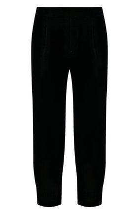 Мужские брюки GIORGIO ARMANI темно-синего цвета, арт. 1WGPP0L1/T0025 | Фото 1 (Длина (брюки, джинсы): Стандартные; Материал внешний: Купро, Вискоза; Материал подклада: Купро; Случай: Повседневный; Стили: Кэжуэл)
