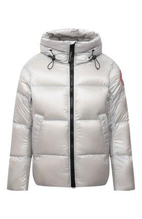Мужская пуховая куртка crofton CANADA GOOSE светло-серого цвета, арт. 2252M | Фото 1 (Материал подклада: Синтетический материал; Материал внешний: Синтетический материал; Материал утеплителя: Пух и перо; Кросс-КТ: Куртка; Мужское Кросс-КТ: пуховик-короткий; Длина (верхняя одежда): Короткие; Стили: Спорт-шик; Рукава: Длинные)