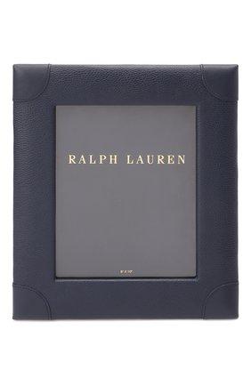 Рамка для фотографий RALPH LAUREN темно-синего цвета, арт. 682708126 | Фото 1