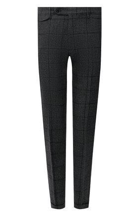 Мужские шерстяные брюки BERWICH серого цвета, арт. VULCAN0Z/AN1311 | Фото 1 (Материал внешний: Шерсть; Материал подклада: Купро; Стили: Классический; Случай: Формальный; Длина (брюки, джинсы): Стандартные)