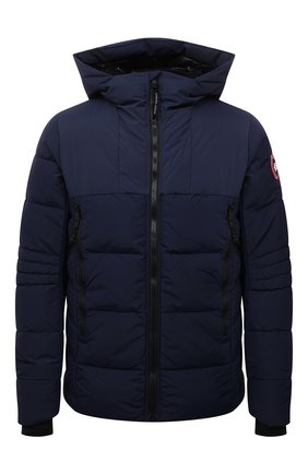 Мужская пуховая куртка hybridge CANADA GOOSE темно-синего цвета, арт. 2742M | Фото 1 (Материал подклада: Синтетический материал; Материал внешний: Синтетический материал; Материал утеплителя: Пух и перо; Кросс-КТ: Куртка; Длина (верхняя одежда): Короткие; Стили: Кэжуэл; Мужское Кросс-КТ: пуховик-короткий; Рукава: Длинные)