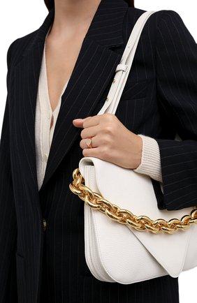 Женское кольцо-печатка MOONKA золотого цвета, арт. nc-sig-g   Фото 2 (Материал: Серебро)