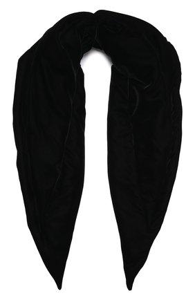 Женский утепленная косынка TAK.ORI черного цвета, арт. SCT90070PL100AW21 | Фото 1 (Материал: Синтетический материал, Текстиль)