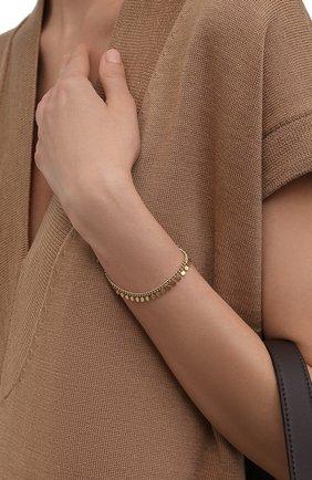 Женский браслет HANKA_IN золотого цвета, арт. GYP-BR | Фото 2 (Материал: Металл)
